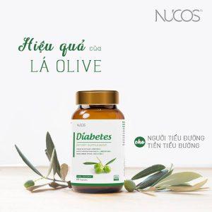 Nucos Diabetes - Chiết xuất Olive, mạnh mẽ trong việc kiểm soát đường huyết