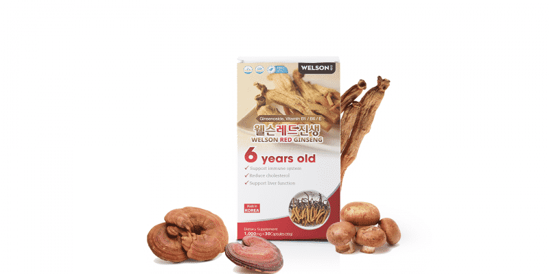 WELSON RED GINSENG