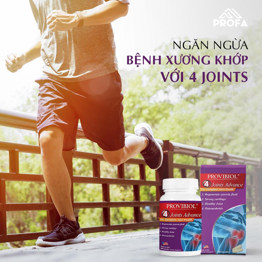 Provibiol Joints Advance xương khớp tập thể dục